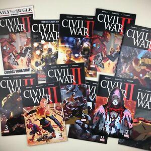 Civil-War-II-0-1-2-3-4-5-6-7-8-FCBD-Immortal-She-Hulk-COMPLETE-SET