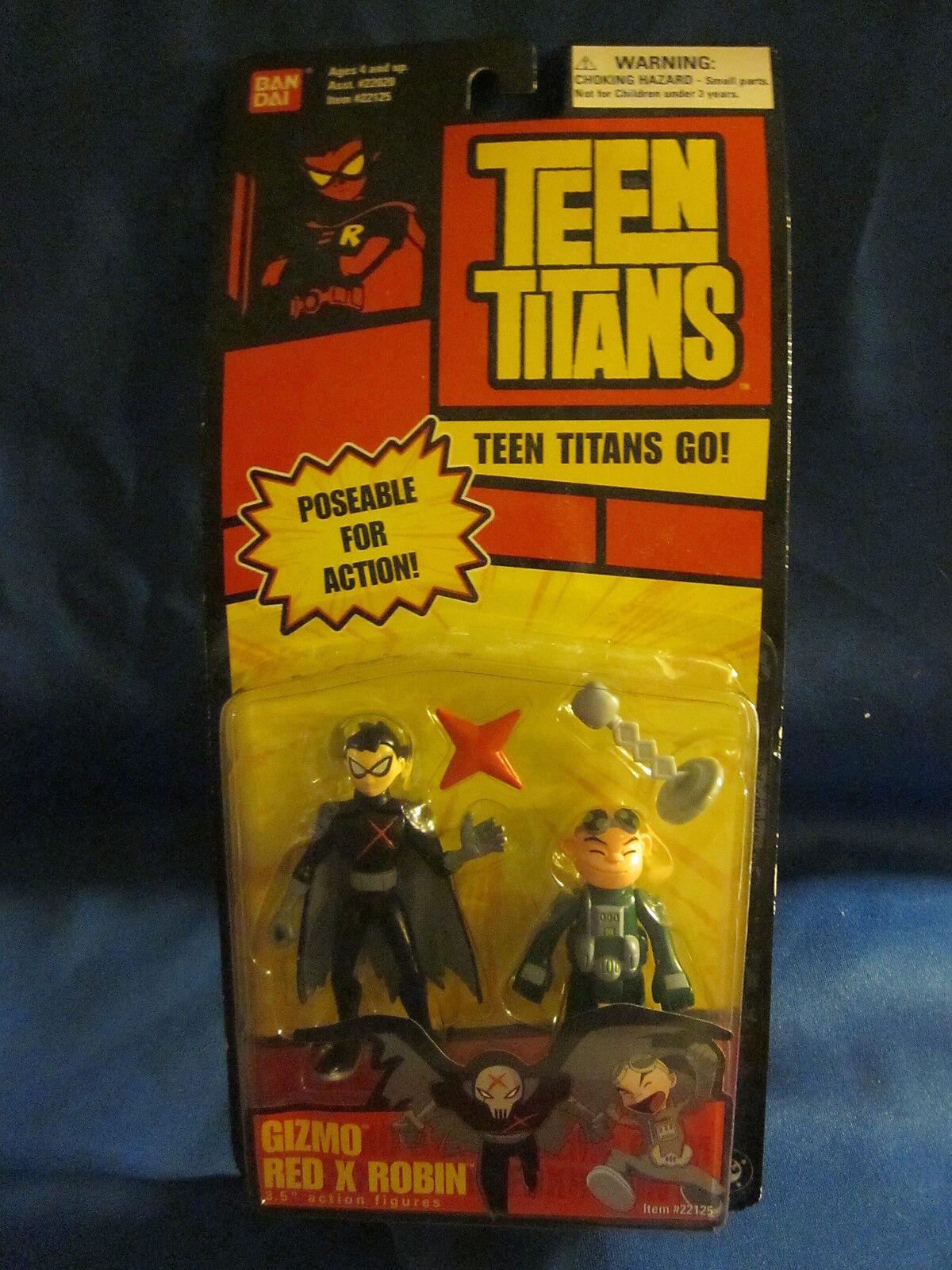 Teen Titans Teen Titans Go Gizmo Rosso x Robin Action Figures