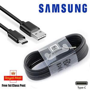 Genuine-Samsung-Galaxy-S8-S9-Plus-Tipo-C-USB-Cargador-de-Sincronizacion-de-C-Cable-de-carga