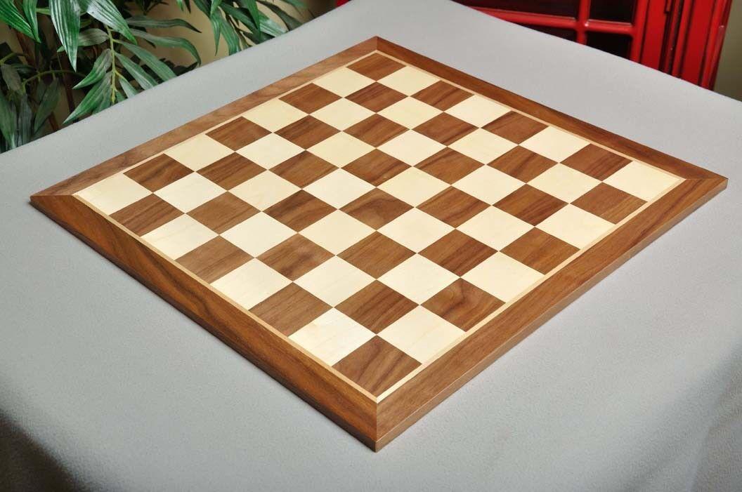 Walnut & Maple Wooden Chess  tavola  - 2.5   comprare a buon mercato