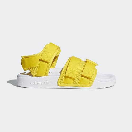 "Adidas CQ2673 ΓυναικΡία πανΟ""ΟŒΟ†Ξ»Ξ΅Ο' Trefoil Adilette Σανδάλια κίτρινο Ξ»Ξ΅Ο…ΞΊΟŒ"