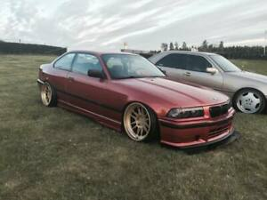 BMW-E36-Coupe-3Series-Front-Felony-Form-Replica-Overfenders-Wide-Body-Kit-Flares