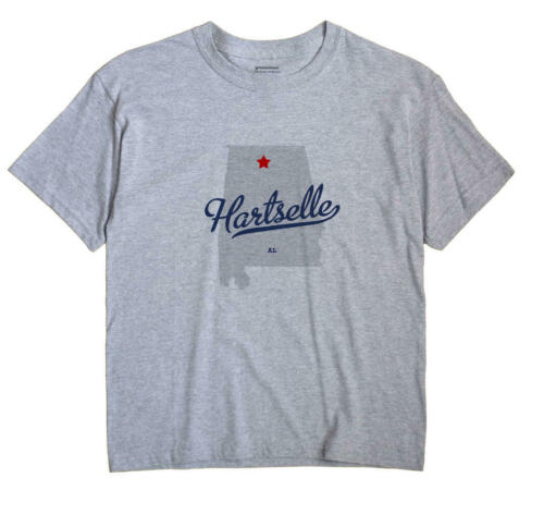 Hartselle Alabama AL Ala T-Shirt MAP