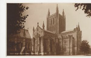Hereford Cathedral from NE Judges 13565 Postcard A992 - Malvern, United Kingdom - IF THE GOODS ARE NOT AS DESCRIBED PLEASE RETURN WITHIN 14 DAYS OF RECEIPT FOR FULL REFUND. Most purchases from business sellers are protected by the Consumer Contract Regulations 2013 which give you the right to cancel the purcha - Malvern, United Kingdom