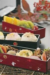 bento box 3 Stage with Chopsticks Traditional Japanese lunch HAKOYA 06423 New