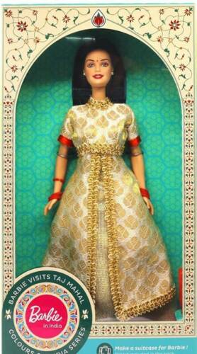 Barbie In India-Visits Taj Mahal Multicolor