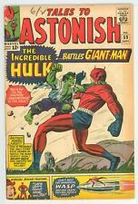 TALES TO ASTONISH 59 5.5 GIANT MAN VS HULK NICE PAGES TC