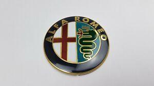 ALFA ROMEO Emblem Rot 74 mm Front Heck Scudetto 147 156 159 166 MITO