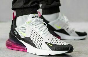 Nike Air Max 270 White Volt Black