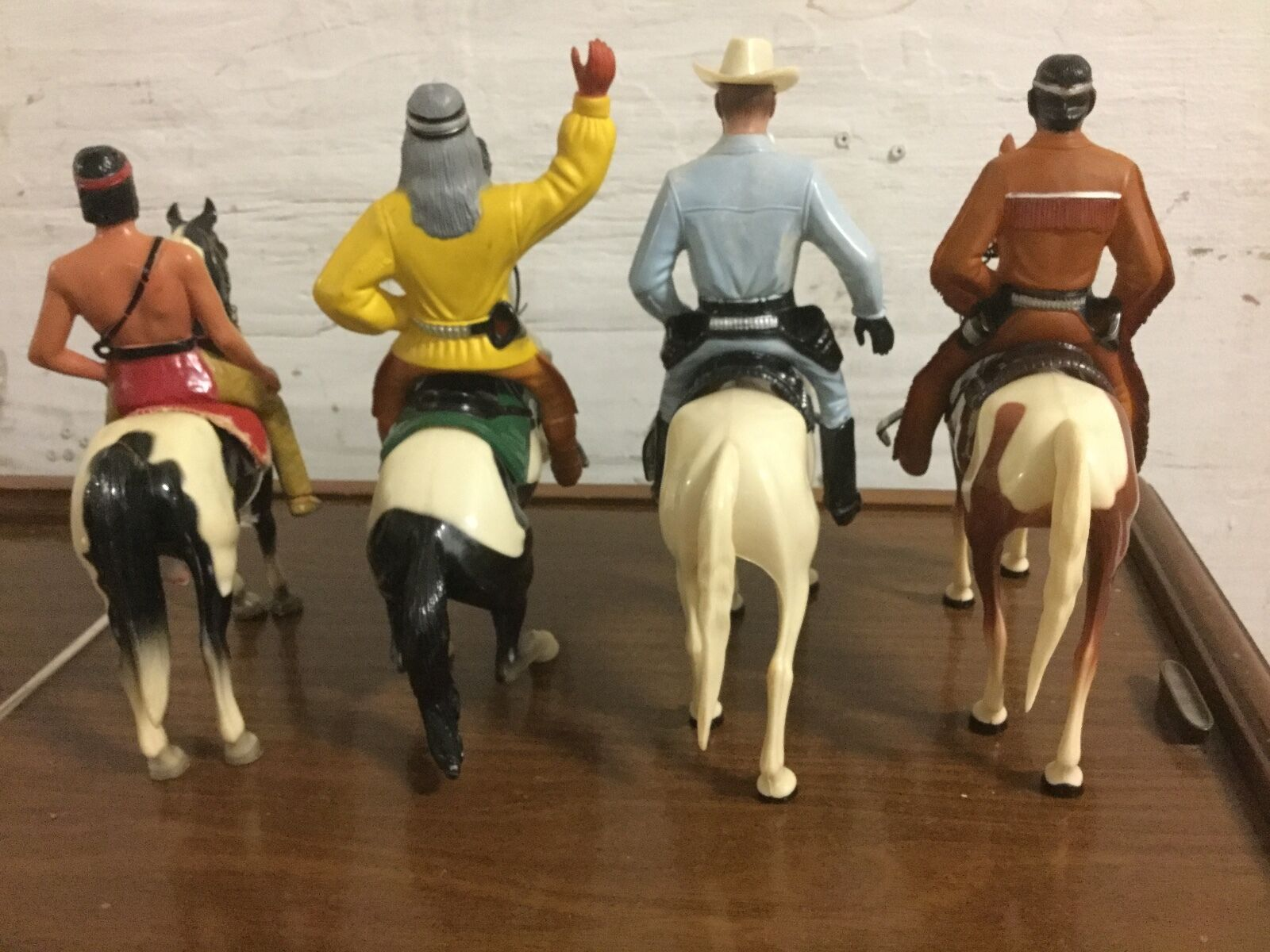 Vintage Marked HARTLAND-The Lone Ranger - tonto 1950's And And And 2 More bde796