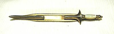 VINTAGE--FREE MASONS SWORD--TIE CLASP--SWANK