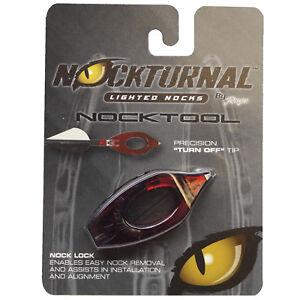 Rage Nockturnal Lighted Nock Install Tool Turn Off Tool Nt 901