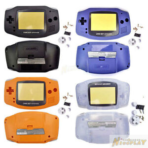 New-Replacement-Full-Shell-Housing-Case-FOR-Game-Boy-Advance-GBA