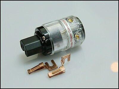 Valab Pure Copper ( Red Copper) AC Power Cord Female Plug