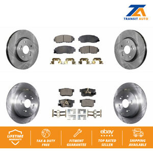 For Acura RDX 2007-2011 Set of 2 Rear Disc Brake Rotors OEM 42510S9AE50