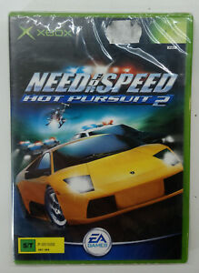 Need For Speed Hot Pursuit 2 Xbox Video Game European Pal Sealed Ebay