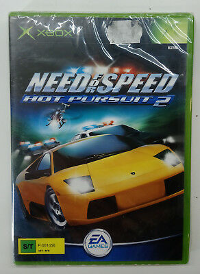 Need For Speed Hot Pursuit 2 Xbox Video Game European Pal Sealed