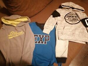 Jungen-Pullover-Paket-110-116-Winter-warm