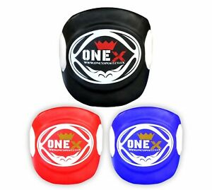 Super-Body-Pad-Armour-Guard-Chest-Muay-Thai-Training-Belly-Protector-MMA-UFC