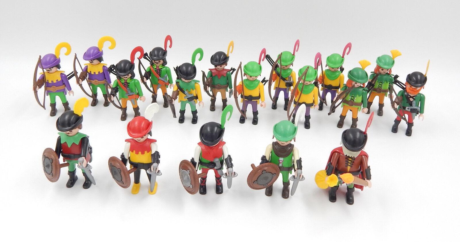 centro commerciale online integrato professionale PLAYMOBIL personaggi fanteria fanteria fanteria Lang arcieri arcieri ESERCITO SOLDATI Castello  qualità di prima classe