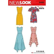 Free UK P/&P New Look Ladies Easy Sewing Pattern 6342 Simple Shift Dress...