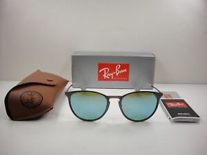 7c990da389983 Image is loading RAY-BAN-ERIKA-METAL-SUNGLASSES-RB3539-9015B4-GUNMETAL-