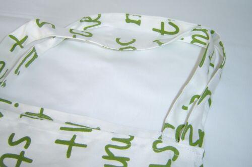 New Design Full Length   Letter  Print 100/% Cotton Apron