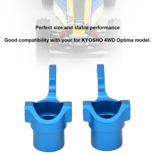 for KYOSHO 4WD Optima Car L//R Aluminum Alloy Knuckle Arm Upright Steering Cup