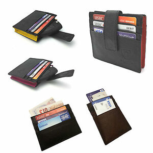 MENS-WOMEN-REAL-GENUINE-LEATHER-HIGH-QUALITY-SLIM-THIN-WALLET-OYSTER-TRAVEL-CARD