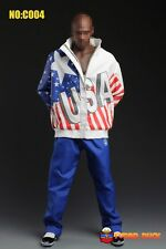 """1:6 Super Duck USA Basketball Jacket and Pants Set For 12"""" Action Figure"""