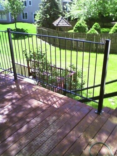 STRUCTURAL STEEL IRON FENCE YARD DECK LOT RAILING