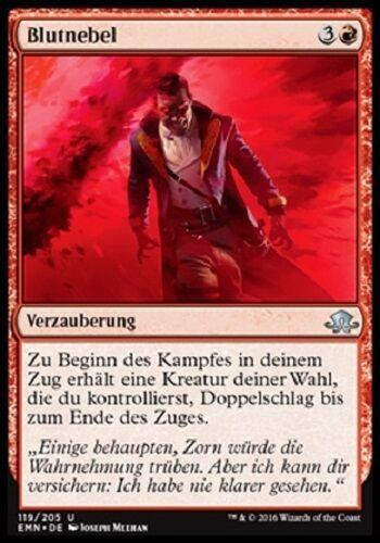 Comme neuf, düstermond, allemand 4 Blood Mist//blutnebel