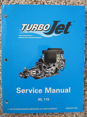 1994 Evinrude Johnson OMC Service Repair Manual TurboJet 90 115 Turbo Jet  502138 | eBay | Turbo Jet 115 Wiring Diagram |  | eBay