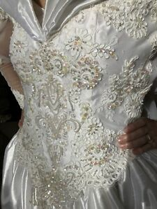 e4865d8f6a Details about Wedding Dress - Never worn (runaway bride)!!! Free shipping.