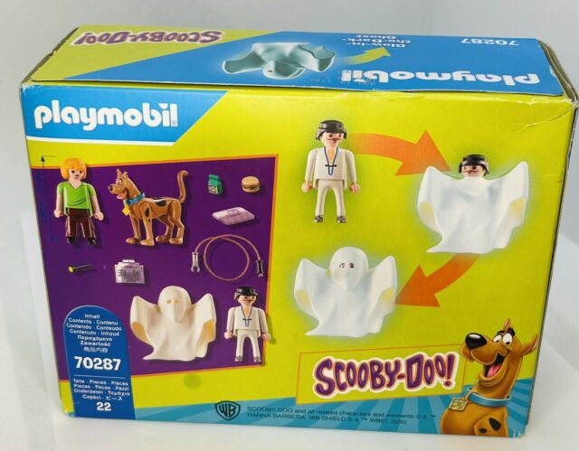 PLAYMOBIL 70287 Scooby-doo Scooby Shaggy /& Ghost G3 for sale online