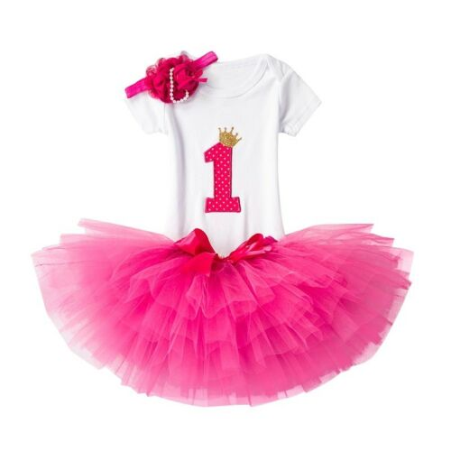 First birthday outfit girl hot pink cake smash outfit,first birthday baby outfit