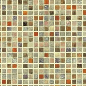 Tiles self adhesive wallpaper pvc peel stick prepasted for Pre stick wallpaper