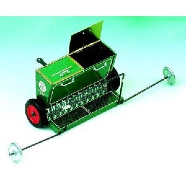 Sämaschine aus Blech für Traktor Blechspielzeug Kovap
