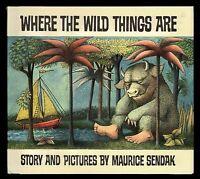 Where The Wild Things Are Hardcover - Maurice Sendak Children's Classic
