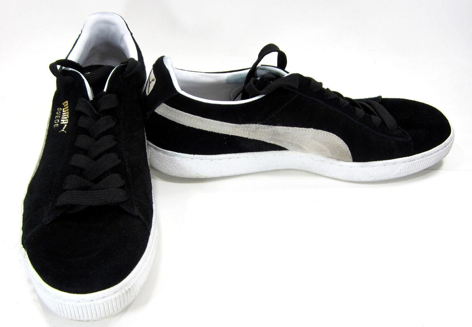Puma Zapatos  Negro Gamuza Clásico  Eco Negro  Zapatillas Tamaño 9.5 689ad1