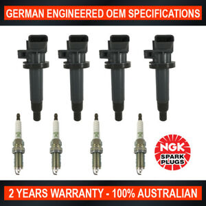 4x-Genuine-NGK-Spark-Plugs-amp-4x-Ignition-Coils-for-Toyota-Corolla-MR2