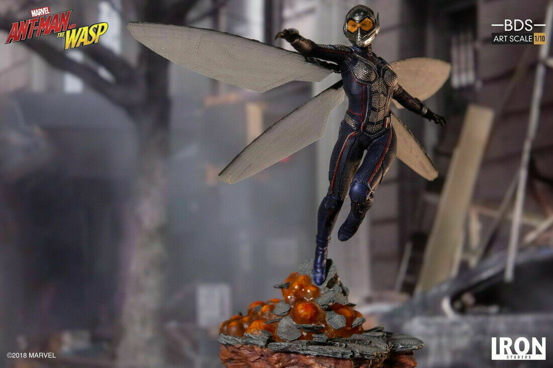 Iron Studios Marvel  Wasp Art Scale 1/10 Statue on eBay thumbnail