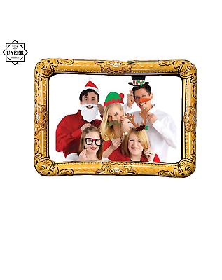 Inflatable Picture Frame 60 x 80cm Fancy Dress Party Wedding Selfie Prop