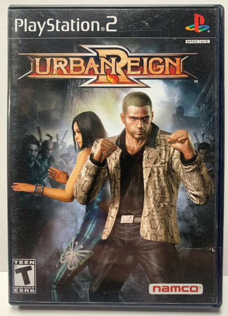 Urban Reign for Sony Playstation 2 PS2 NTSC CIB Black Label Complete By Namco