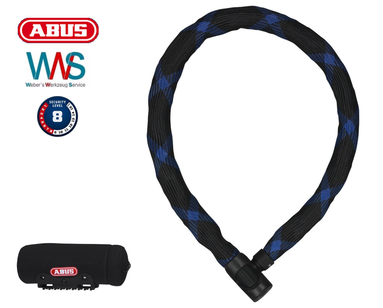 ABUS Kettenschloss Ivera Chain 7210 85cm + Chain Bag Bag Chain ST 2012 NEU 16cbae