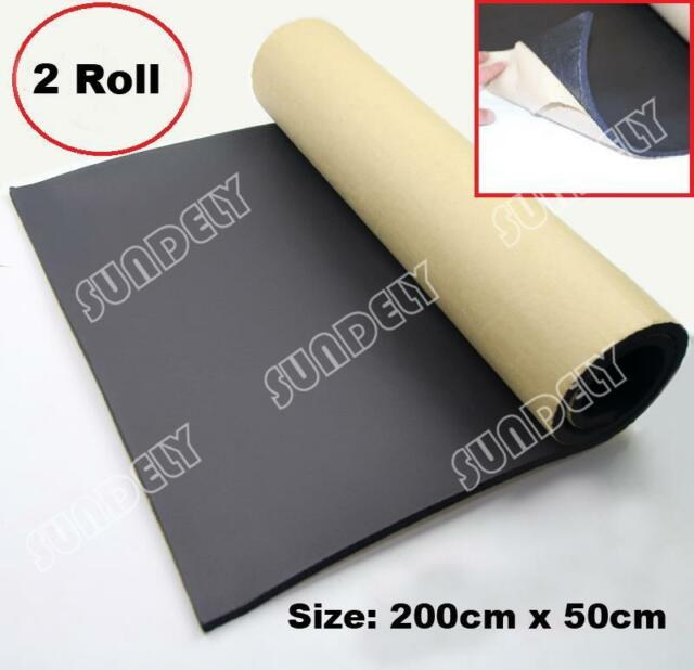 2Roll sound proofing & heat insulation sheet closed cell foam size 2m x 50cmx1cm
