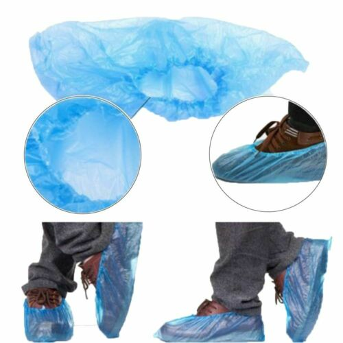 400PCS Disposable Anti Slip Boot Shoe Covers Overshoes Protective Waterproof US