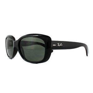 af74690b308ca Ray-Ban Gafas de Sol Jackie Ohh 4101 601 58 Negro Verde Polarizado ...