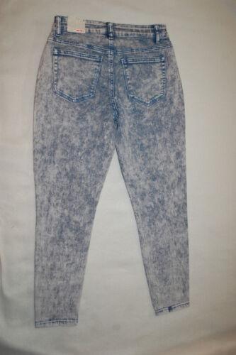 Cheville Taille Haute 791173058751 Taille Chaleur Bleu Jeans Lavé 6 Jeggings Denim À Femme La a0nqwHZz