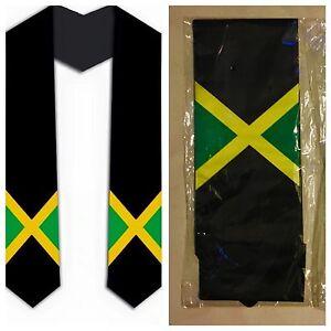 Details about Graduation Stole / Sash - Jamaica Jamaican Flag